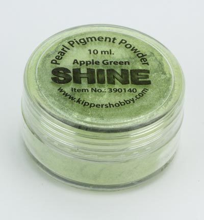 Shine: Apple Green - helmiäisjauhe