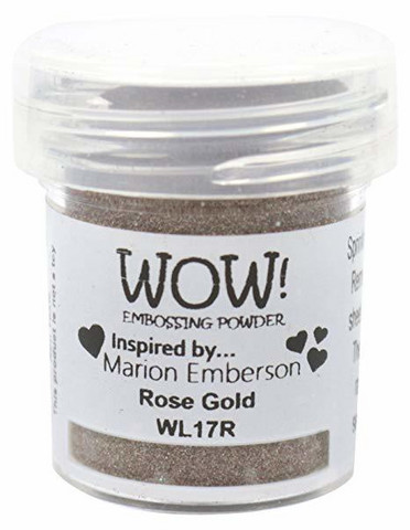 Wow Embossing Powder: Rose Gold 15ml