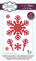 Festive Collection: Bold Snowflake Flurry  -stanssisetti
