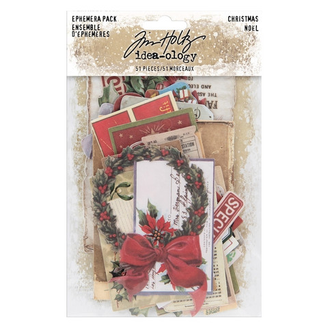 Tim Holtz Idea-ology: Ephemera Pack Christmas 2019