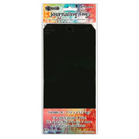 Ranger Dylusions:  Black Mixed Media Journaling Tags