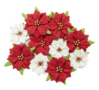 Recollections:  Christmas Paper Poinsettia