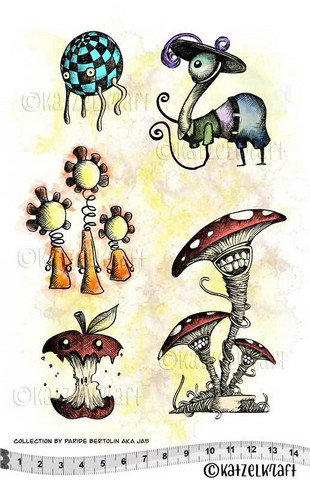 Les Herbaliens A5 - unmounted leimasinsetti