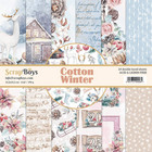 Scrapboys: Cotton Winter 6x6 - paperikokoelma