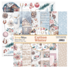 Scrapboys:  Cotton Winter 12x12 - paperikokoelma