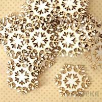 Snowflake  x 10   - chipboardpakkaus