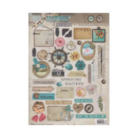 Studio Light: Memories of Summer #623 Die Cuts - arkki