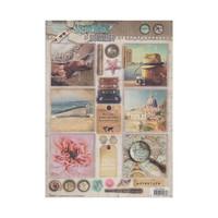 Studio Light: Memories Of Summer  #620 stanssattu korttikuva-arkki