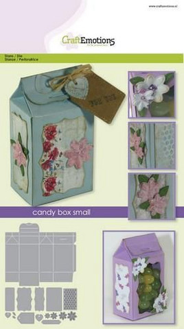 Craft Emotions: Candy Box Small  - stanssisetti