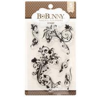 Bo Bunny: Fanciful Flourishes - kirkas leimasinsetti