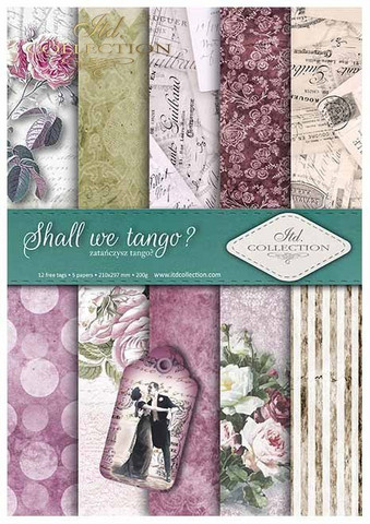 ITD Collection: Shall We Tango? A4- paperikokoelma