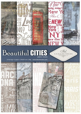 ITD Collection: Beautiful Cities A4- paperikokoelma