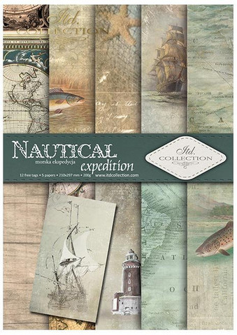 ITD Collection: Nautical Expedition A4- paperikokoelma