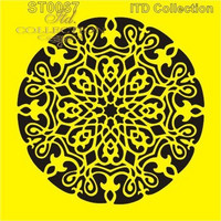 ITD Collection: Ornamental Medallion 6x6   - sabluuna