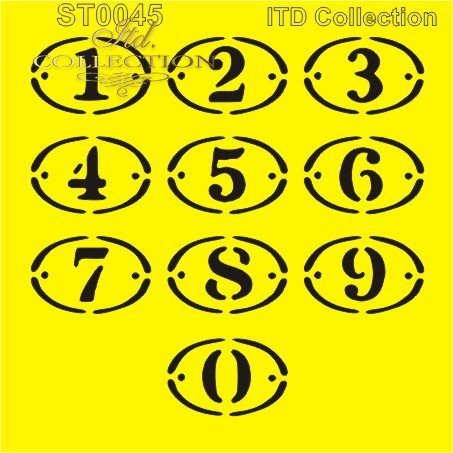 ITD Collection: Number Plates 6x6   - sabluuna