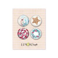 Lemoncraft: Joy To The World Flair Buttons -  koristeet