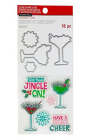 Recollections: Get Your Jingle On Clear Stamp & Die Set