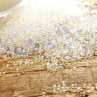 Micro Beads: Opalecent 0,6 - 0,8 mm/ 7ml