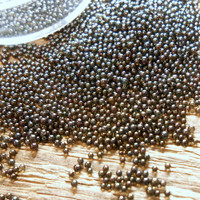 Micro Beads: Black Opal 1 - 1,5 mm/ 7ml