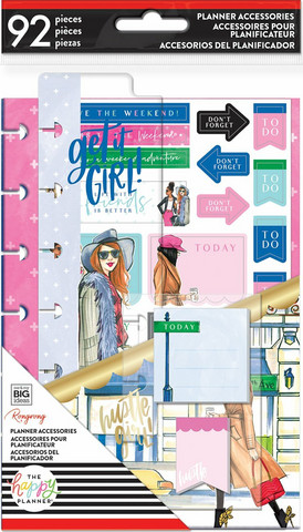 MAMBI Happy Planner Mini Accessories: Rong Rong Hustle Girl  - pakkaus