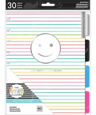 MAMBI Happy Planner Classic Dividers: Good Vibes Only