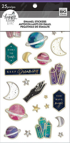 MAMBI Happy Planner Enamel Stickers - Stargazer