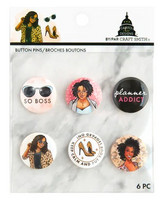 Capitol Chic Designs Button Badges
