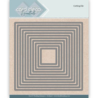Card Deco Essentials: Squares -stanssisetti