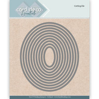 Card Deco Essentials: Ovals -stanssisetti