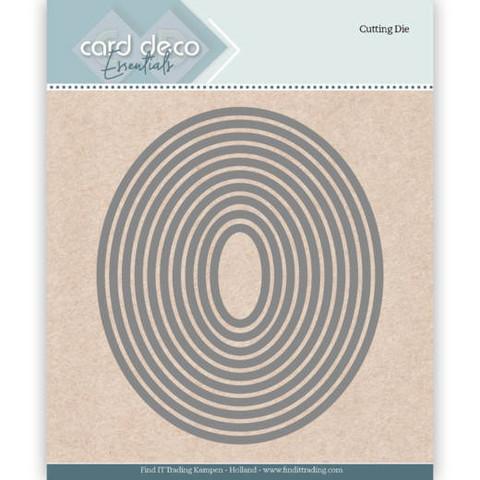 Card Deco Essentials: Ovals -stanssisetti
