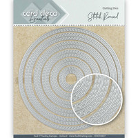 Card Deco Essentials: Stitch Round -stanssisetti