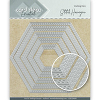 Card Deco Essentials: Stitch Hexagon -stanssisetti