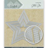 Card Deco Essentials: Stitch Star -stanssisetti