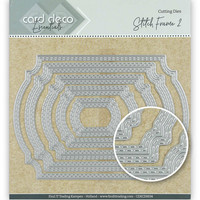 Card Deco Essentials: Stitch Frame 2 -stanssisetti