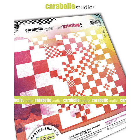 Carabelle Studio Texture Plate: Damier by Alexis