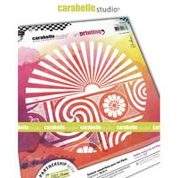 Carabelle Studio Texture Plate: Le Soleil Brille by Alexis
