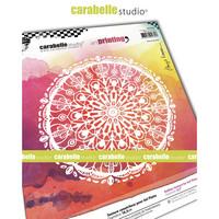 Carabelle Studio Texture Plate: Floral Rosette by Birgit Koopsen