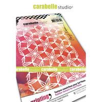 Carabelle Studio Texture Plate: Floral Grid By Birgit Koopsen