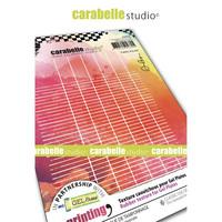 Carabelle Studio Texture Plate: Cahier d´école by Alexis