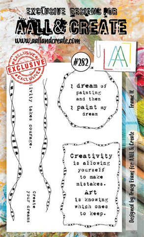 Aall & Create: Frame It  #282 - leimasinsetti