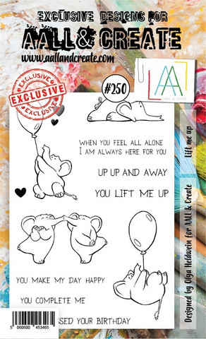 Aall & Create: Lift Me Up  #250 - leimasinsetti