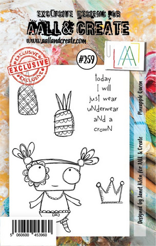 Aall & Create: Pineapple Queen #259 - leimasinsetti