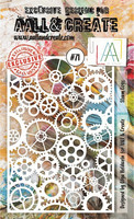 Aall & Create STENCIL: Steam Cogs  #71 - sabluuna