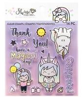 Shine Sticker Studio Clear Stamps  -leimasinsetti