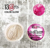 13arts Color Glow Metallic Watercolor: Ruby 10g - jauhevesiväri