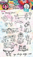 Studio Light Art by Marlene: Pets Clear Stamps A5 - leimasinsetti