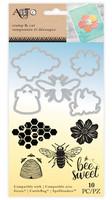 Art C Stamp & Cut: Bee Sweet