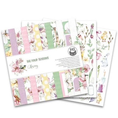 P13: Four Seasons - Spring 12x12 - paperikokoelma