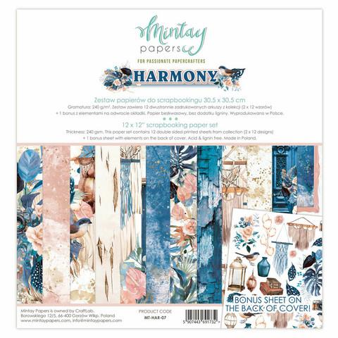 Mintay Papers: Harmony 12x12 - paperikokoelma