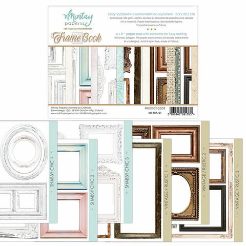Mintay Papers 6 x 8 : Framebook - leikekuvalehtiö